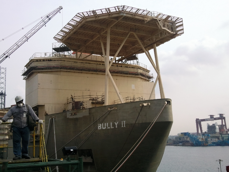 HML : Bully 2 cargo and FPSO